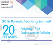 Customer Contact Strategies Announces 20+ Speakers At 2016 Remote Working Summit Feb 17-18
