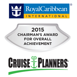 Cruise Planners Earns Chairman's Award from Royal Caribbean