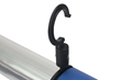 5' LED Task Light Equipped with Hooks for Overhead Hanging and Hands Free Operation