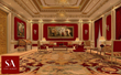 Formal Diplomatic Reception Rooms conceived and designed by Stef Albert