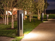 Solispost solar powered bollards light the way