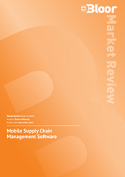 Bloor's Mobile Supply Chain Management Market Review