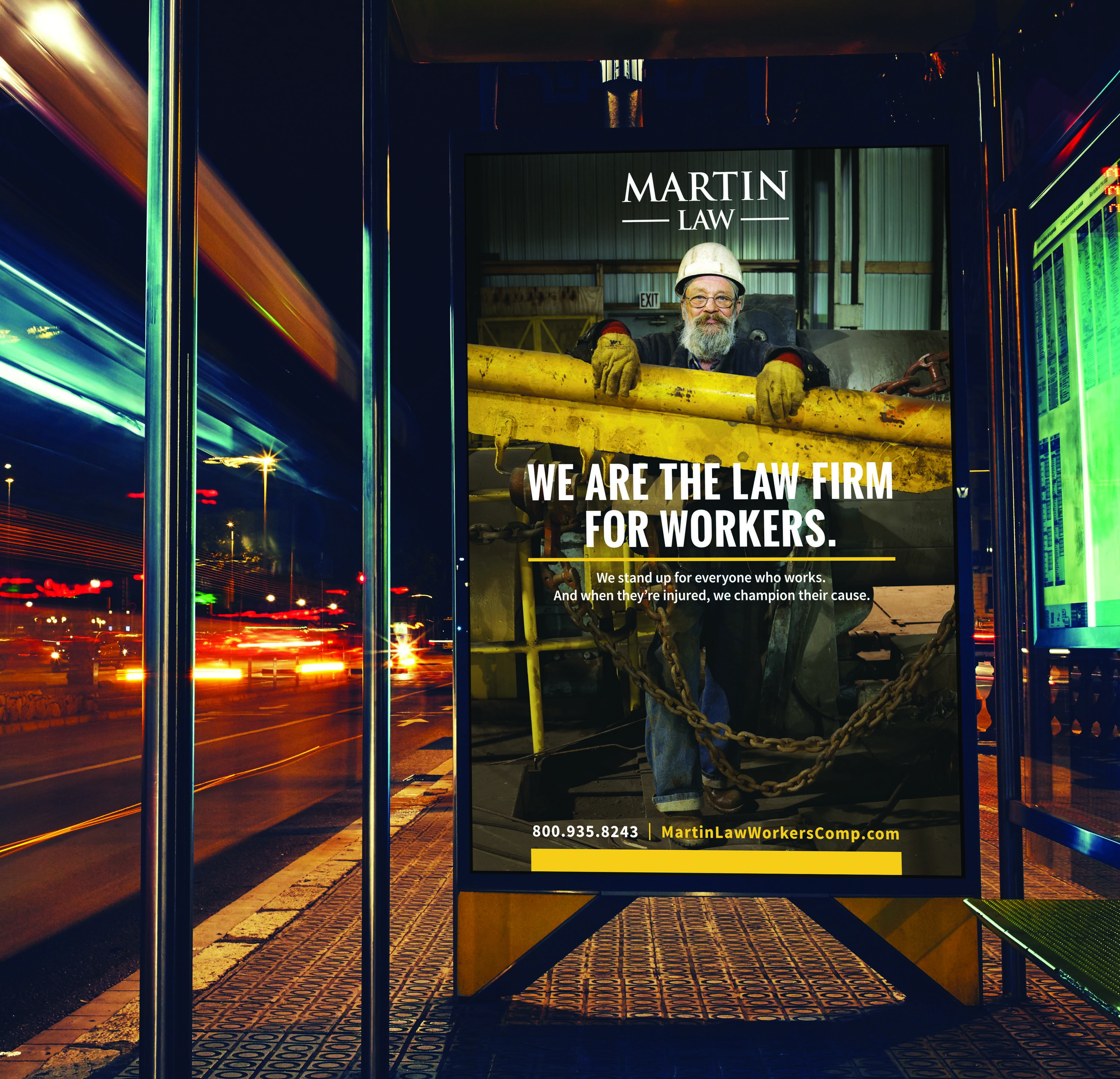 Need To Know Branding Reidel Law Firm: D4 Creative Launches An Emotive Campaign For Martin Law