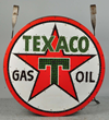 Texaco Gas Oil internally lighted can sign realized $80,520.