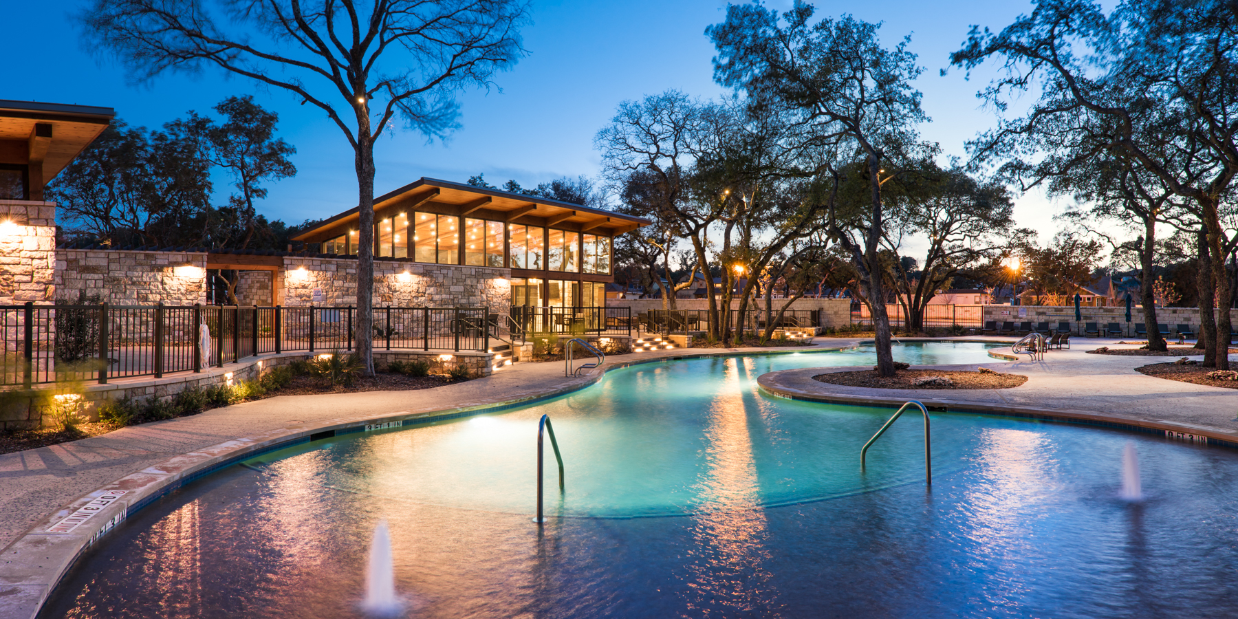 Northwoods at avery ranch amenity center awarded 5 star for Pool design center