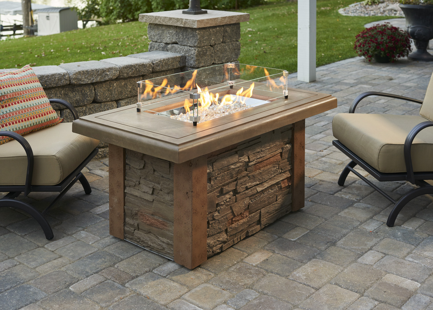New fire table products for 2016 for Concreteworks fire table