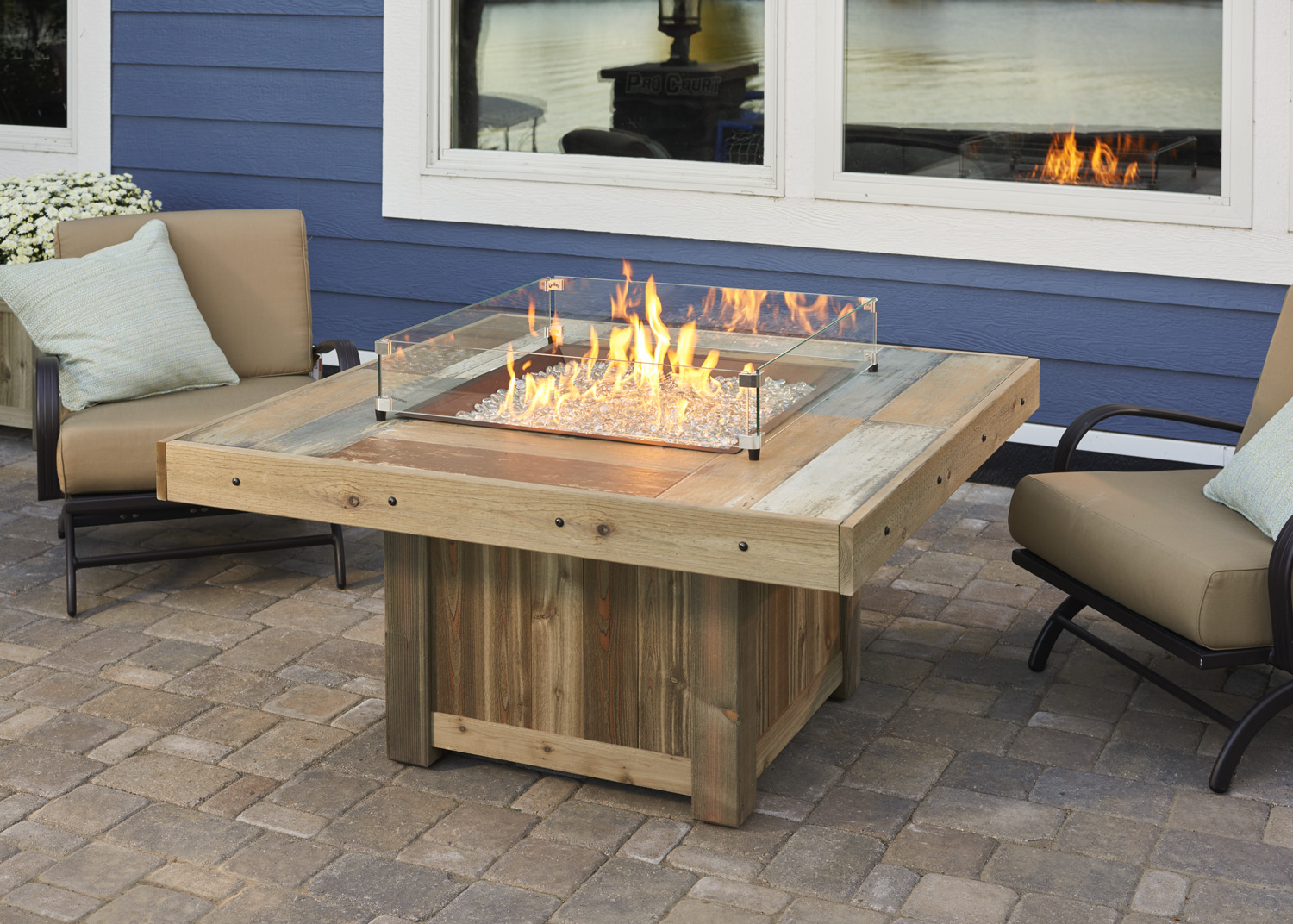 new fire table products for 2016. Black Bedroom Furniture Sets. Home Design Ideas