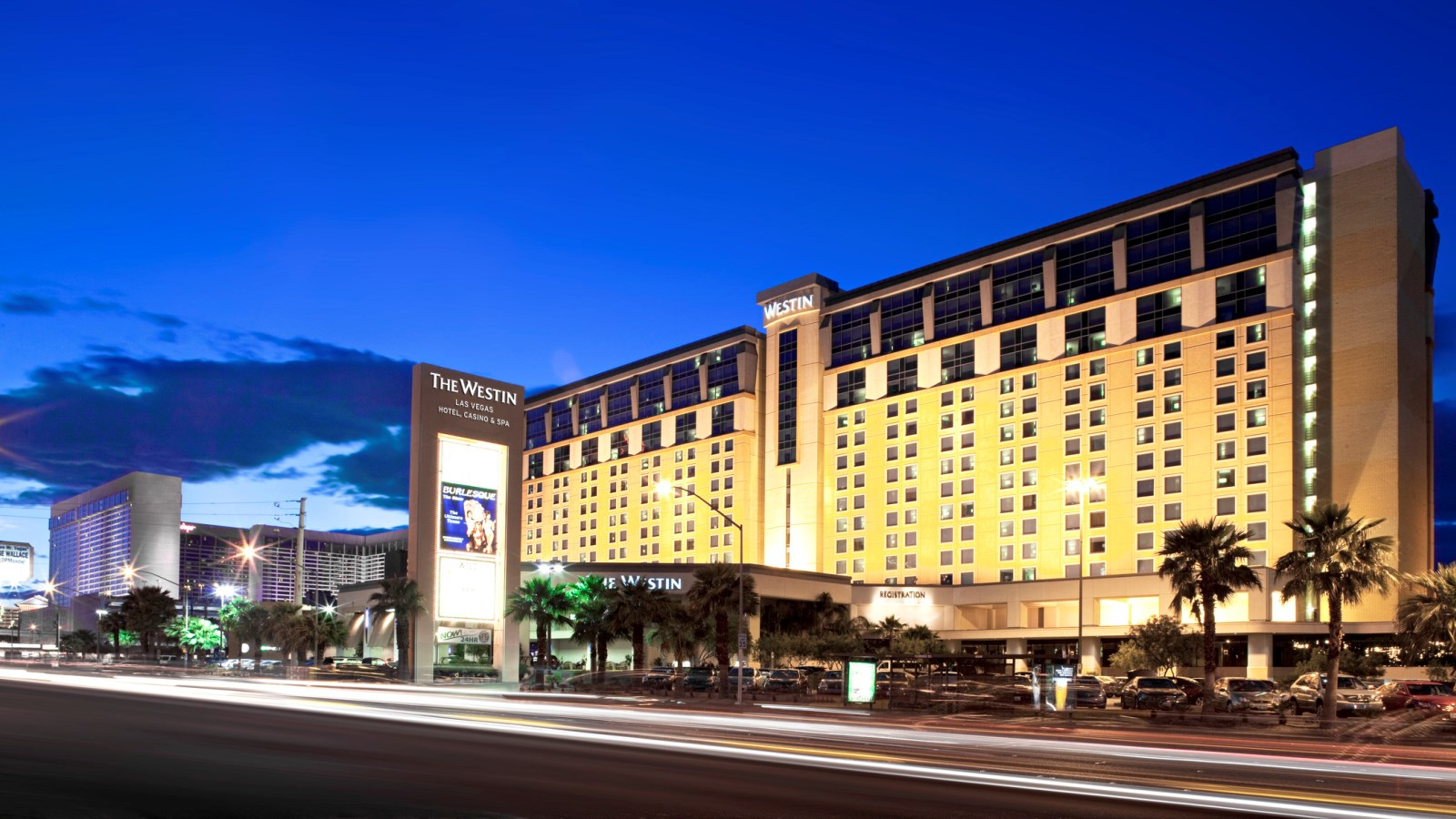 Westin las vegas to be managed by crescent hotels resorts for Casino salon