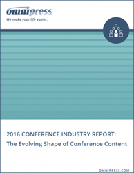 2016 State of the Conference Industry Report by Omnipress