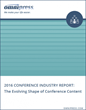 Conference Planners Report Shift in How Attendees Prefer to Receive Content: 2016 Report by Omnipress