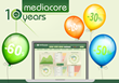 MediaCore Turns 10 - Speedflow Celebrates with a Game!