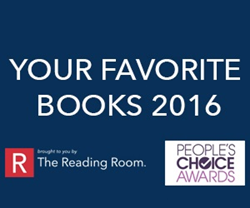 Your Favorite Books 2016 brought to you by The Reading Room and People's Choice Awards