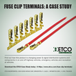 ETCO Incorporated Publishes Case Study on Development of Fuse Clip Terminal Product