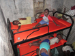 Children playing on their bunk beds with Relief Beds and SHEEX!