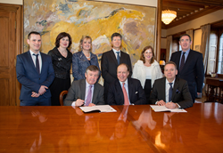 ASSERT/UCC and Mentice signing partnership agreement