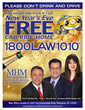 "Martin, Harding & Mazzotti, LLP Announces 80% Increase for New Year's Eve ""Free Cab Ride Home Program"""