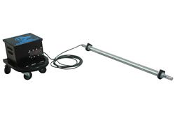 Portable 5' LED Task Light that produces 3,500 lumens of light