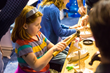 Toy boat building is just one of the many fun activities for the little mariners at the Seattle Boat Show