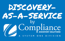 Discovery-as-a-Service and Compliance logo