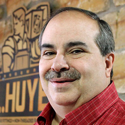 Larry Kucera, G.L. Huyett's Regional Sales Manager in the Greater Chicago area