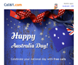 Australian Expats Can Call Landlines in Australia on their National Day without Paying Anything