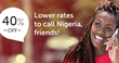 Big Price Drops on International Calls to Nigeria on TelephoneNigeria.com for All Nigerians Worldwide
