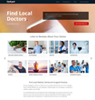 Find Local Doctors New Layout Now Allows Consumers to Read Reviews About Their Doctor from Multiple Websites