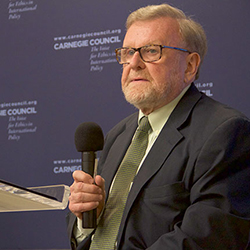 David C. Speedie, Carnegie Council