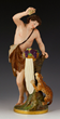 19th C. Russian Porcelain Figure of Bacchus