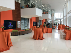 Clemson University Watt Family Innovation Center video walls and BrightTree Studios