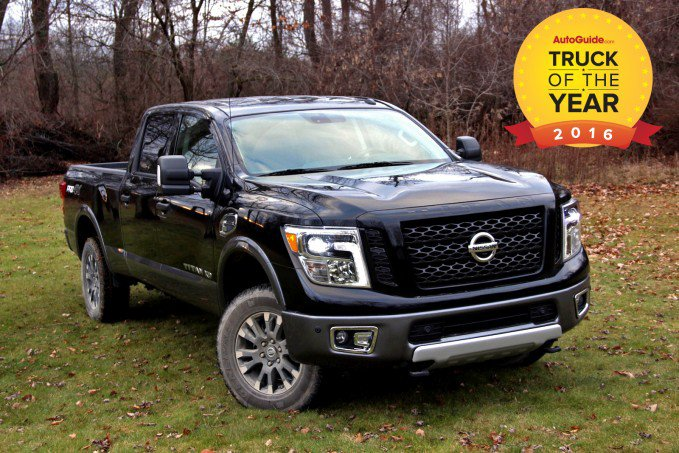 truck of the year award given to the 2016 nissan titan xd. Black Bedroom Furniture Sets. Home Design Ideas
