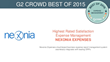 Nexonia Expenses Recognized in G2 Crowd Best of 2015 User's Choice List