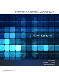 Akholi Research Ukraine Economy Assessment 2016