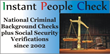 Instant People Check, LLC Discounts Their Online Instant Background Checks