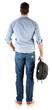 Slicks Backpack Mode Side - Yellow w Model