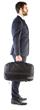 Slicks Briefcase Mode Side - Suit w Model