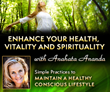 health, nutrition, vitality, spirituality, online course, eating healthy