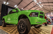 "The Minotaur RAM in ""Tequila Lime"" custom paint."