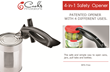Cooks Innovations ® Launches the Patented 4-in-1 Safety Opener, an Inventive Way to Open Kitchen Foods