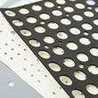 Die cut materials by Marian for an Outdoor Architectural LED Area Light.