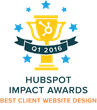 Stream Creative Receives HubSpot Impact Award For Best Client Website Design