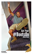 Actor Donald Faison gets his #BootsOn for to support America's Military Heroes