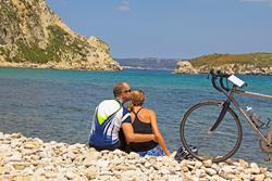 Anniversary celebration on a Backroads' Greece biking tour