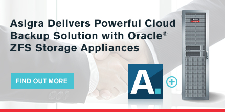 Asigra Delivers Powerful Cloud Backup Solution With Oracle