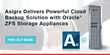 Asigra Delivers Powerful Cloud Backup Solution with Oracle® ZFS Storage Appliances