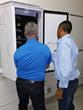 Glenn Siemens, CEO of Arise Solar, installs a JuiceBox Energy storage system