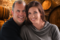 "Stephen and Shannon Mackey, Wine Hosts for AmaWaterways ""Taste of Bordeaux"" European river cruise"