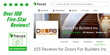Custom Door Maker Receives 100 Rave Reviews from the Houzz Community