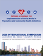International Symposium on the Implementation of Social Media in Population and Community Health