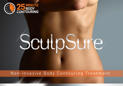SculpSure Body Contouring reduces fat in a 25 minute procedure